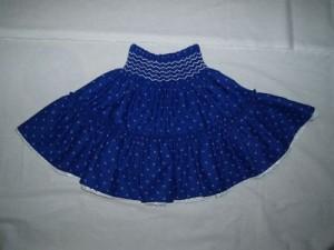 kékfestő szoknya